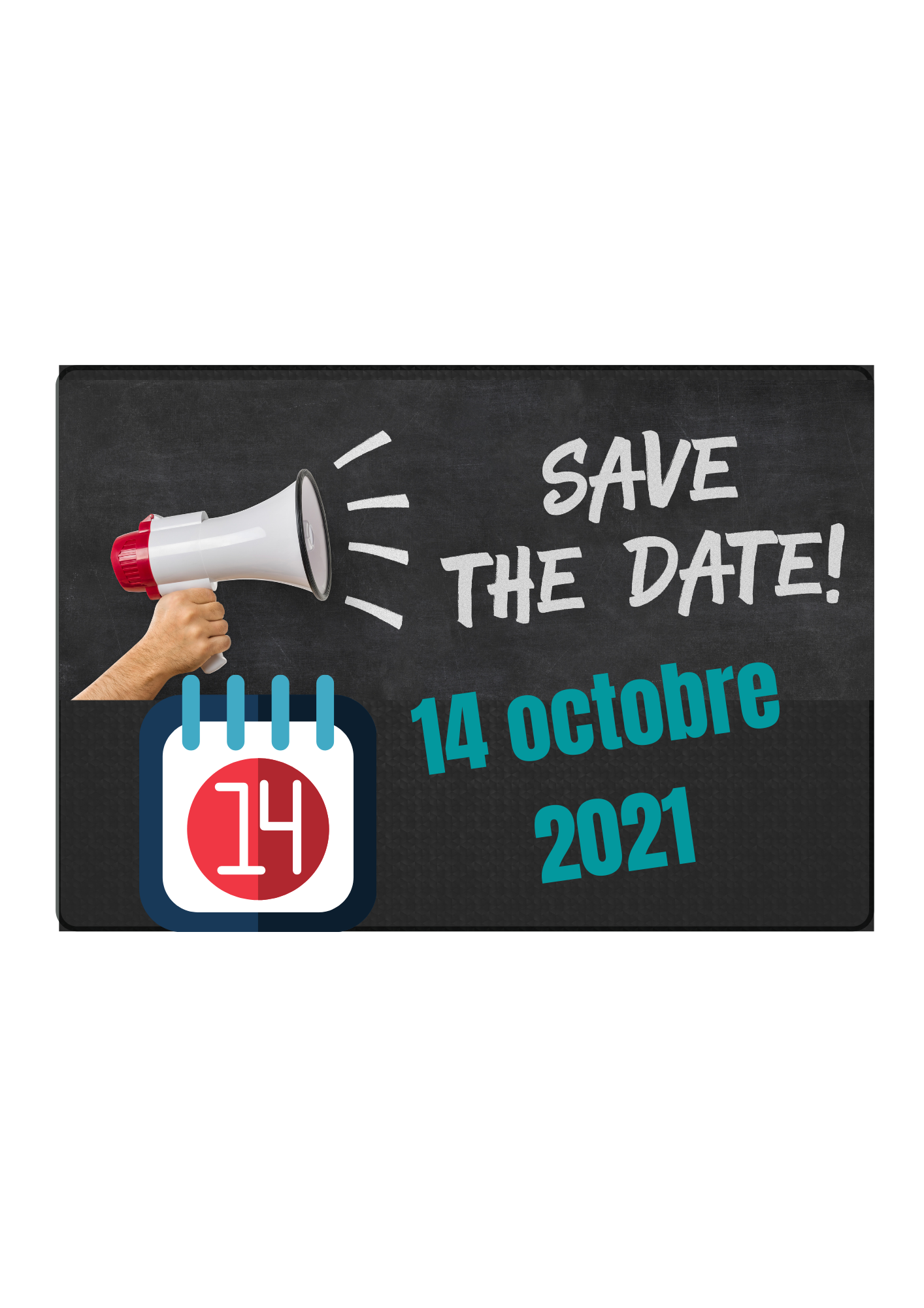 SAVE THE DATE | 14 octobre